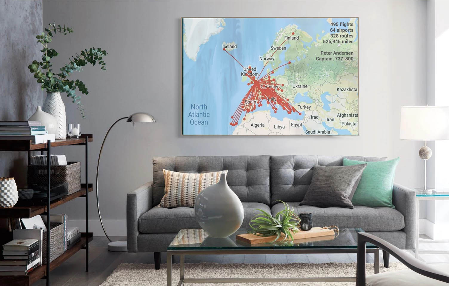 rosterbuster-flight-map-printed-canvas
